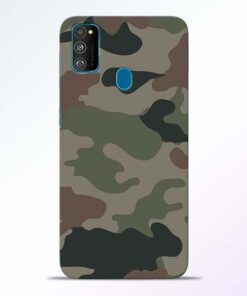 Army Camouflage Samsung Galaxy M30s Mobile Cover