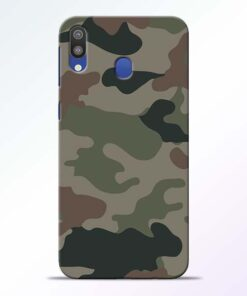 Army Camouflage Samsung M20 Mobile Cover - CoversGap