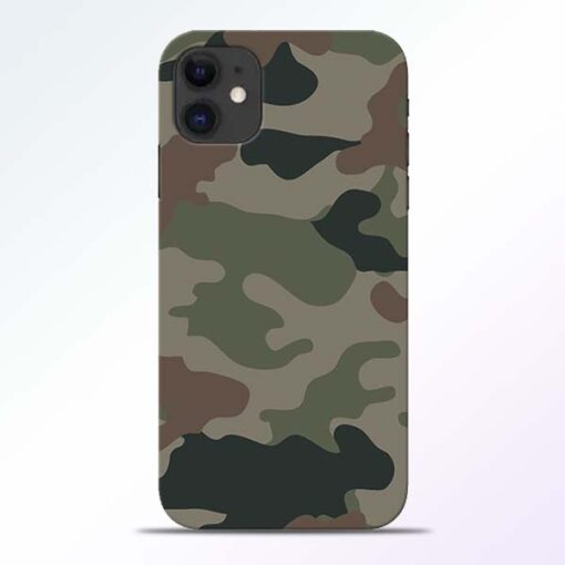 Army Camouflage iPhone 11 Mobile Cover