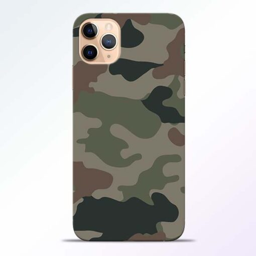 Army Camouflage iPhone 11 Pro Mobile Cover