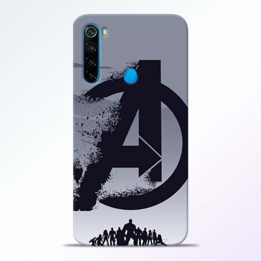 Avengers Team Redmi Note 8 Mobile Cover