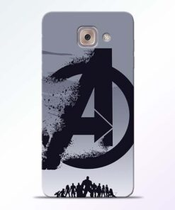 Avengers Team Samsung Galaxy J7 Max Mobile Cover