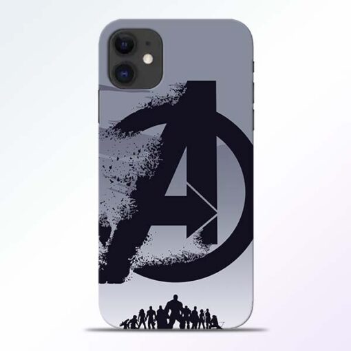 Avengers Team iPhone 11 Mobile Cover