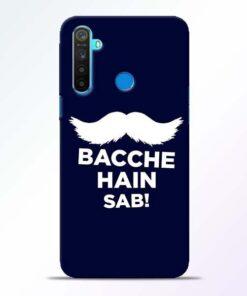 Bacche Hain Sab Realme 5 Mobile Cover