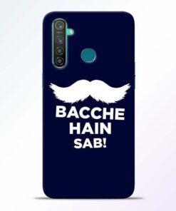 Bacche Hain Sab Realme 5 Pro Mobile Cover
