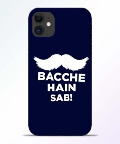 Bacche Hain Sab iPhone 11 Mobile Cover