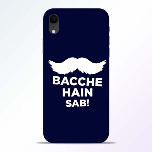 Bacche Hain Sab iPhone XR Mobile Cover