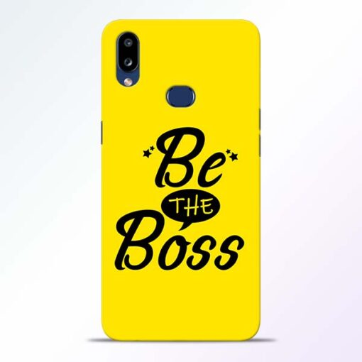 Be The Boss Samsung Galaxy A10s Mobile Cover