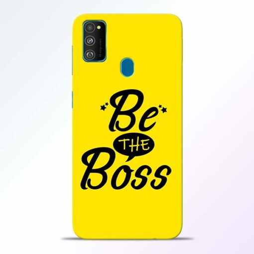 Be The Boss Samsung Galaxy M30s Mobile Cover