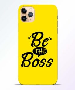 Be The Boss iPhone 11 Pro Mobile Cover