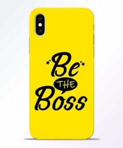 Be The Boss iPhone XS Mobile Cover