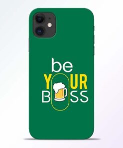 Be Your Boss iPhone 11 Mobile Cover