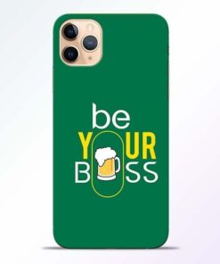 Be Your Boss iPhone 11 Pro Mobile Cover
