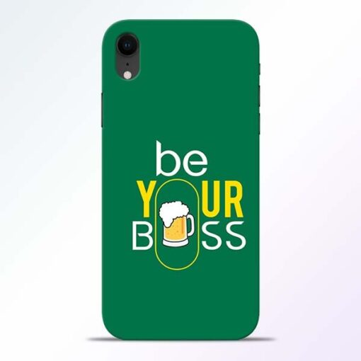Be Your Boss iPhone XR Mobile Cover
