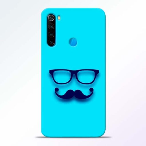 Beard Face Redmi Note 8 Mobile Cover - CoversGap