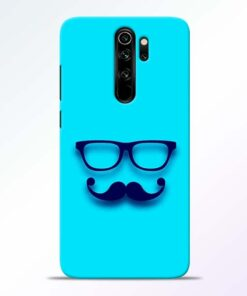 Beard Face Redmi Note 8 Pro Mobile Cover - CoversGap