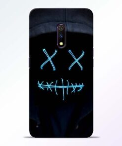 Black Marshmello RealMe X Mobile Cover - CoversGap