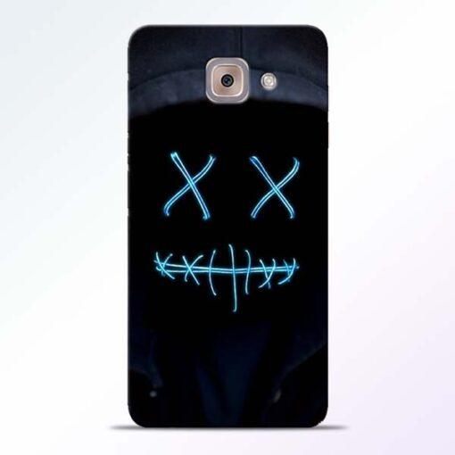 Black Marshmello Samsung Galaxy J7 Max Mobile Cover