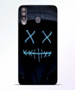 Black Marshmello Samsung M30 Mobile Cover - CoversGap