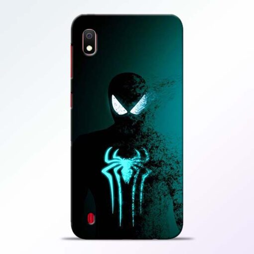 Black Spiderman Samsung A10 Mobile Cover - CoversGap