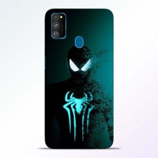 Black Spiderman Samsung Galaxy M30s Mobile Cover