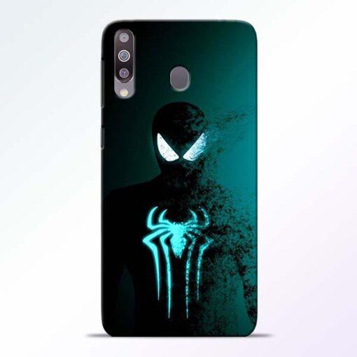 Black Spiderman Samsung M30 Mobile Cover - CoversGap