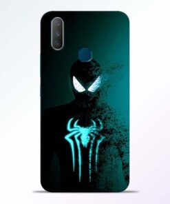 Black Spiderman Vivo Y17 Mobile Cover - CoversGap.com