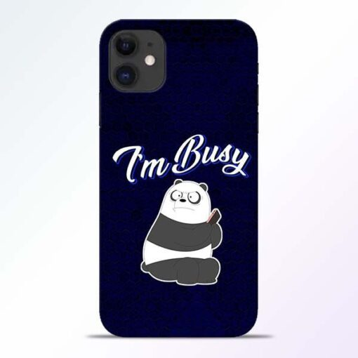 Busy Panda iPhone 11 Mobile Cover