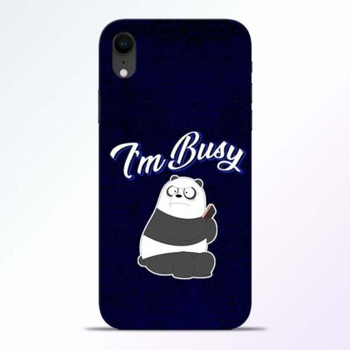 Busy Panda iPhone XR Mobile Cover
