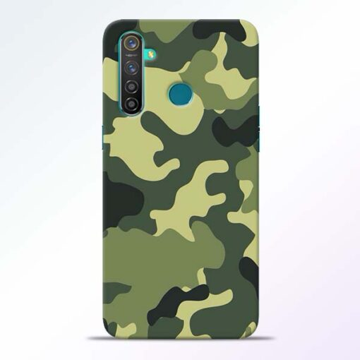 Camouflage RealMe 5 Pro Mobile Cover - CoversGap