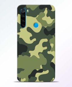 Camouflage Redmi Note 8 Mobile Cover