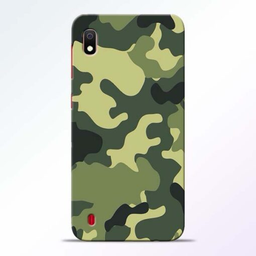 Camouflage Samsung A10 Mobile Cover - CoversGap