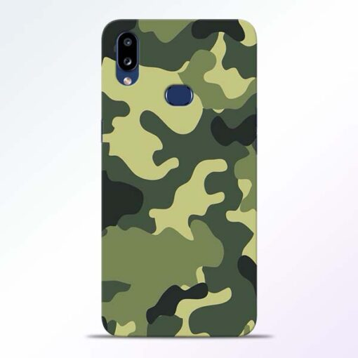 Camouflage Samsung Galaxy A10s Mobile Cover