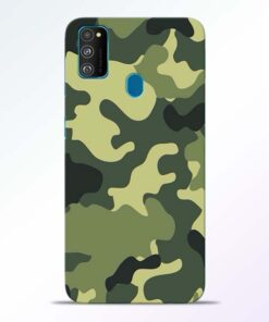 Camouflage Samsung Galaxy M30s Mobile Cover