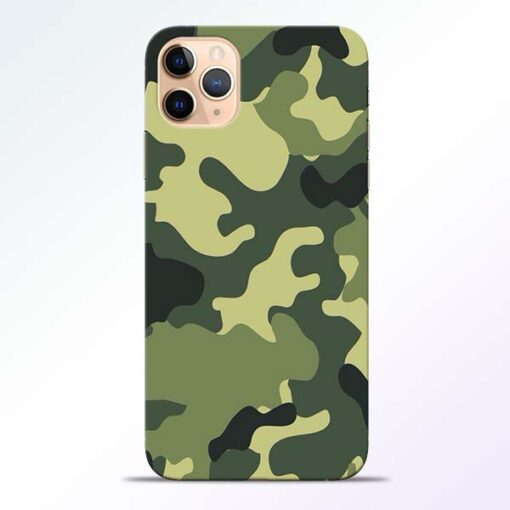 Camouflage iPhone 11 Pro Mobile Cover