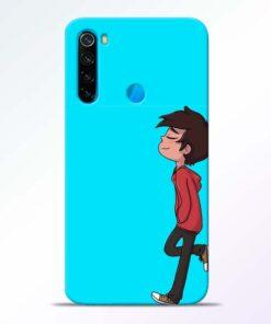 Cartoon Boy Redmi Note 8 Mobile Cover - CoversGap