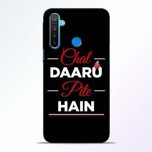 Chal Daru Pite H Realme 5 Mobile Cover