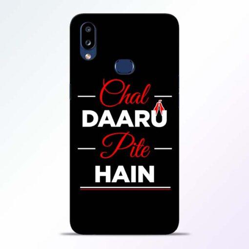 Chal Daru Pite H Samsung Galaxy A10s Mobile Cover