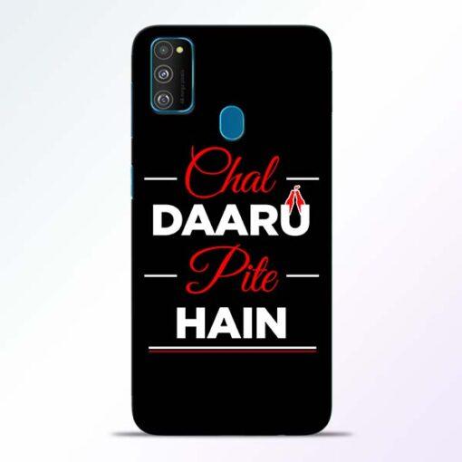 Chal Daru Pite H Samsung Galaxy M30s Mobile Cover