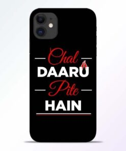 Chal Daru Pite H iPhone 11 Mobile Cover