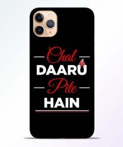 Chal Daru Pite H iPhone 11 Pro Mobile Cover