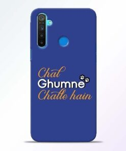 Chal Ghumne Realme 5 Mobile Cover