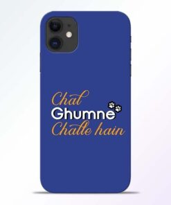 Chal Ghumne iPhone 11 Mobile Cover