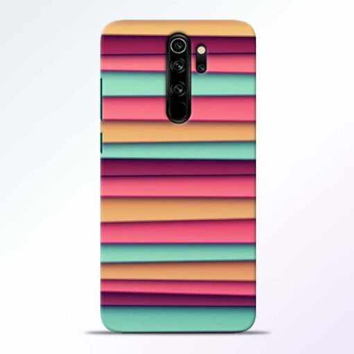 Color Stripes Redmi Note 8 Pro Mobile Cover - CoversGap