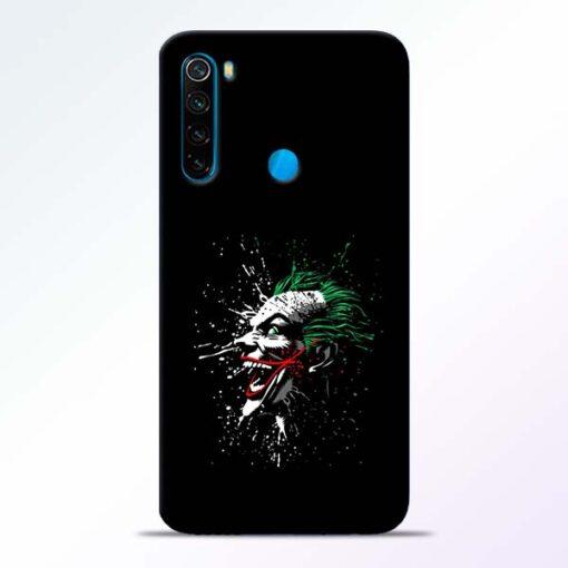 Crazy Joker Redmi Note 8 Mobile Cover