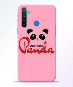 Curious Panda Realme 5 Mobile Cover