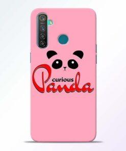 Curious Panda Realme 5 Pro Mobile Cover