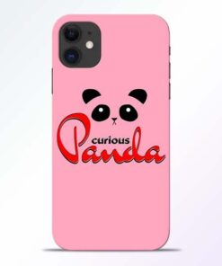 Curious Panda iPhone 11 Mobile Cover