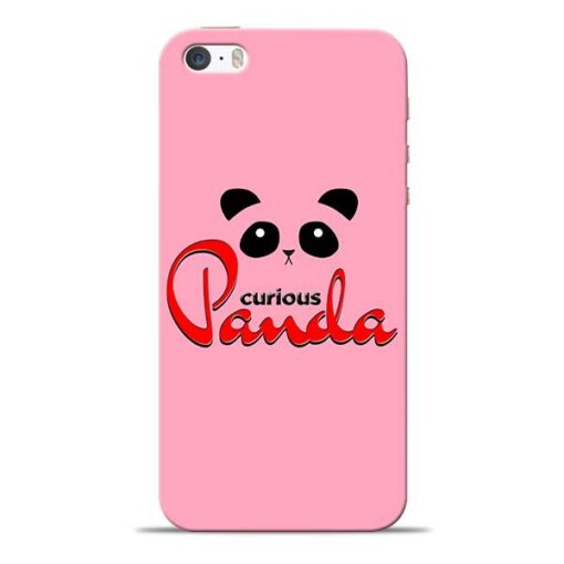 Curious Panda iPhone 5s Mobile Cover