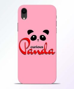Curious Panda iPhone XR Mobile Cover
